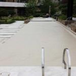 Tan pool cover fabric