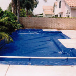 Royal blue snap down safety cover